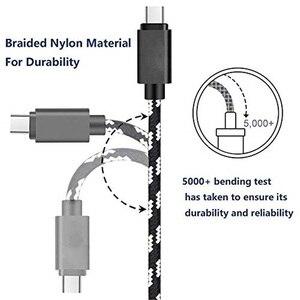 Image 4 - Olnylo USB نوع C كابل سريع شحن نوع C كابل USB لسامسونج S10 S9 S8 xiaomi mi a2 redmi note 7 USB C الهاتف المحمول الكابلات