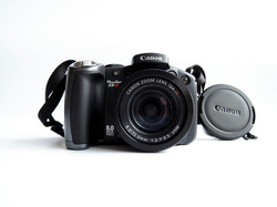 USED Canon PowerShot Pro Series S5 IS 8.0MP Digital Camera with 12x Optical Image Stabilized Zoom