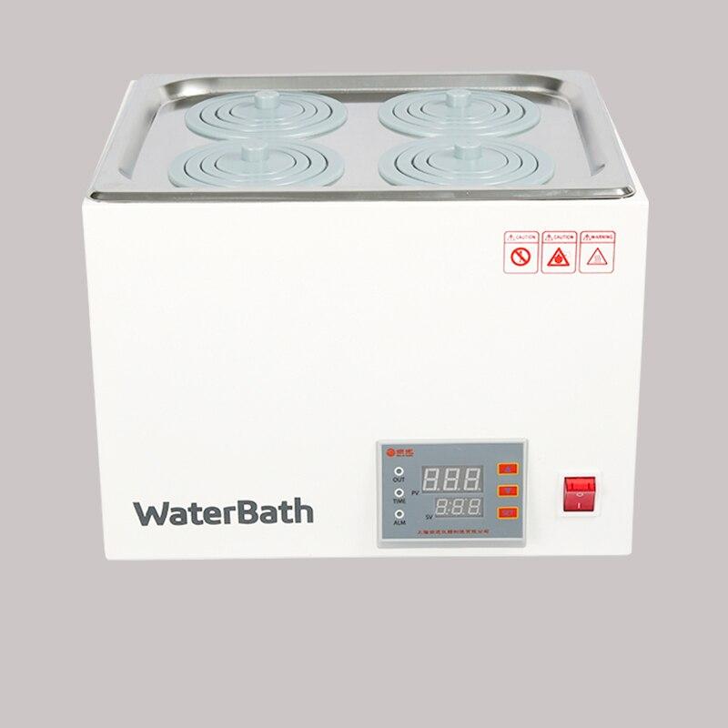 DXY digital thermostat water bath hot bath pot Digital constant temperature Water Bath Labs Experiments 1/2/4/6 holes - 4