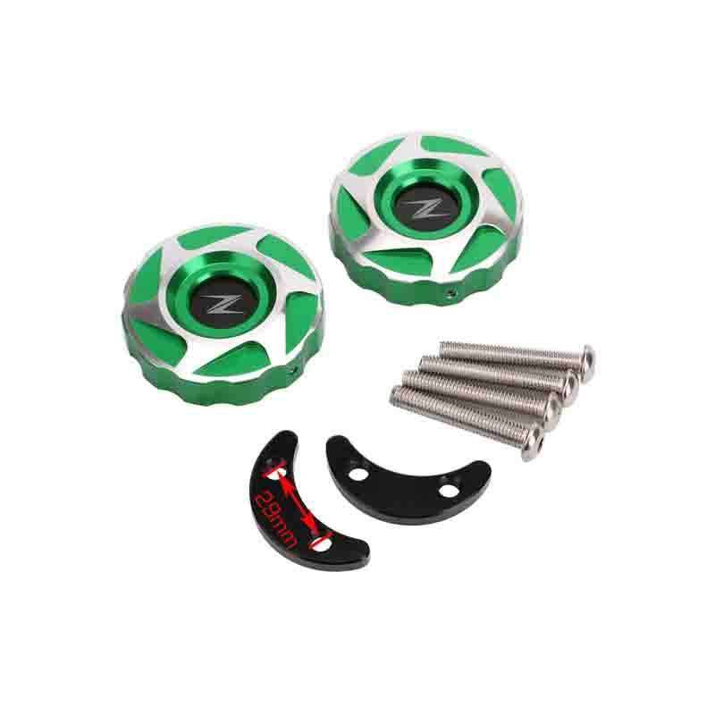 CNC Aluminum Motorcycle Rear Wheel Fork Hole Cover Accessories for <font><b>Kawasaki</b></font> Z1000 <font><b>Z1000SX</b></font> Ninja 1000 2010-2017 2018 <font><b>2019</b></font> image