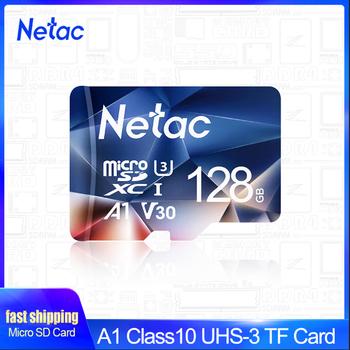 Karta pamięci Netac micro sd 128GB 32GB 256GB 512GB karta micro SD 16GB 64GB karta TF Flash do przełącznika telefonu pc tanie i dobre opinie Class 10 UHS-3 U1 A1 microSDXC microSDHC CN (pochodzenie) Tf micro sd card Rohs Memory card P500 100 New phone tablet Cameras Computer