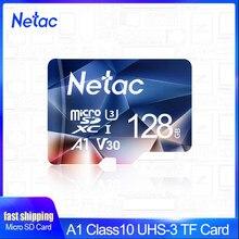 Netac-tarjeta de memoria micro sd, 128GB, 32GB, 256GB, 512GB, 16GB, 64GB, tarjeta Flash TF para interruptor de teléfono y pc