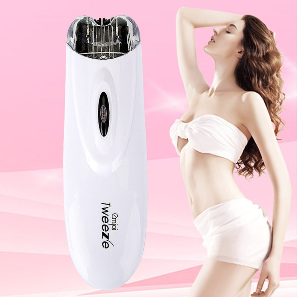 Portable Electric Pull Tweeze Device Women Hair Removal Epilator ABS Facial Trimmer Depilation For Female Beauty