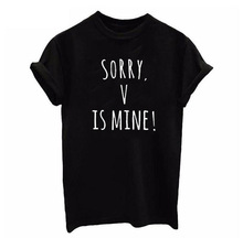 2019 New Summer Casual Graphic Fashion Spoof Cute Print T Shirt Women Tshirt Casual T Shirt for Lady Girl Top Tee Hipster Drop graphic print drop shoulder tee