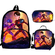 3pcs/set School Bags For Teen Girls&boys School