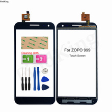 Mobile Phone Touch Screen For ZOPO ZP999 999 Touch Screen Front Glass Digitizer Panel Front Glass Lens Sensor