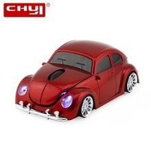 CHYI Wireless Mini Car Shape Computer Mouse Optical Usb Auto