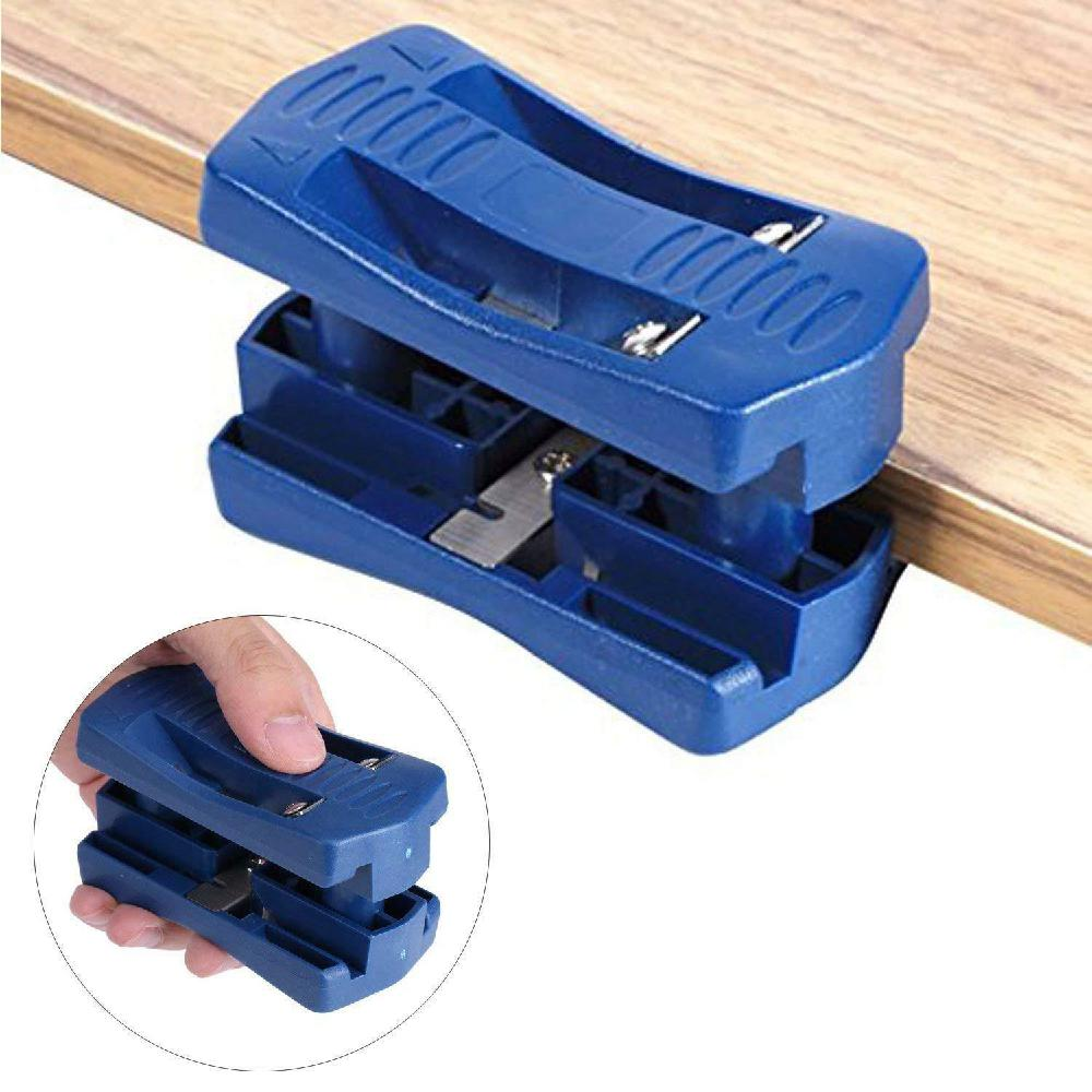Kuulee Double Edge Manual Trimmer Wood Side Banding Machine Manual Tail Trimming Woodworking Tool Carpenter Hardware