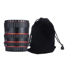 Lens Adapter Mount Autofocus close up Ring voor Canon electronic close up ring Macro shooting adapter