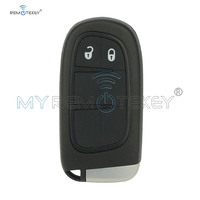 Remtekey smart Key for Dodge chrysler JEEP Cherokee 2014 2015 2016 2017 2 Buttons 433MHz GQ4 54T Keyless Entry car remote key