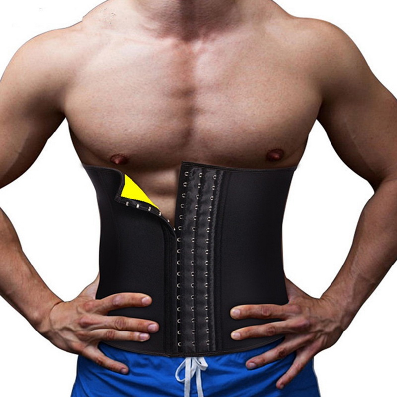 Новый Для мужчин Ремень Неопрен из модала мужской утягивающий корсет Cincher Для мужчин пояс для моделирования тела пояс для живота для похуде...