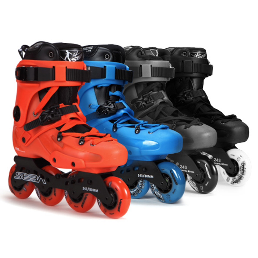 100% Original SEBA FR1 FRA Inline Skates Street Free Style Roller Skating Shoes FSK Skates Slalom Sliding Patines Adulto