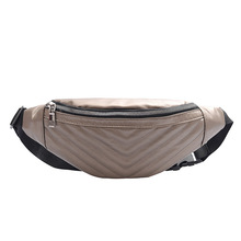 2020 New Ladies Crossbody Chest Bag Fashion Outdoor Travel Waist Bag Ladies Pu Crossbody Bag Mobile Phone Bag Coin Purse