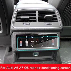 Защитная пленка для экрана Audi A6 A7 Q8, твердость 9H, закаленное стекло, 2019