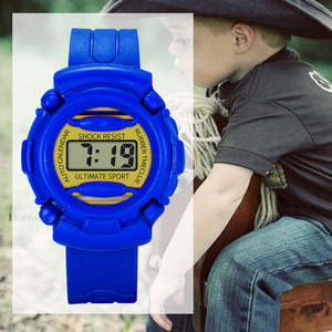 Watch Children Silicone Kids Lightweight Electronic Casual And DO99 Durable Newly