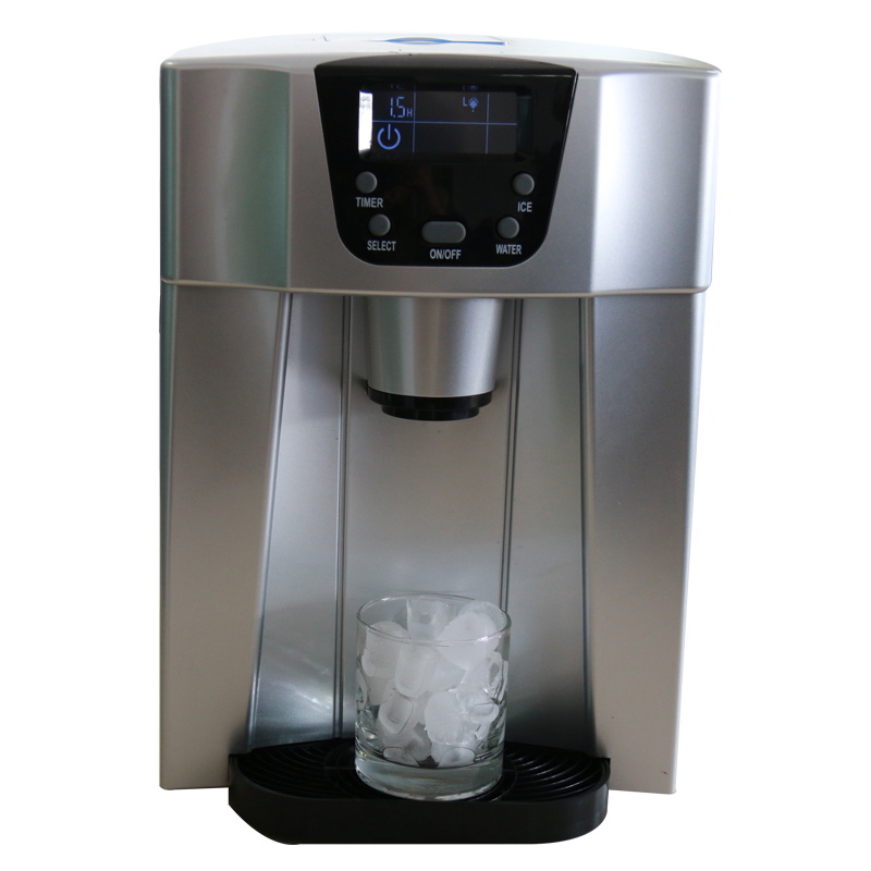 HZB-20E Ice Machine,household Ice Maker 220-240V Commercial Automatic Ice-dropping Mini Ice Machine & Ice Water