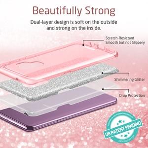 Image 3 - Funda ESR para Samsung Galaxy S9, funda de maquillaje serie trasera, funda protectora brillante con brillo, funda de 3 capas para Samsung S9 Plus