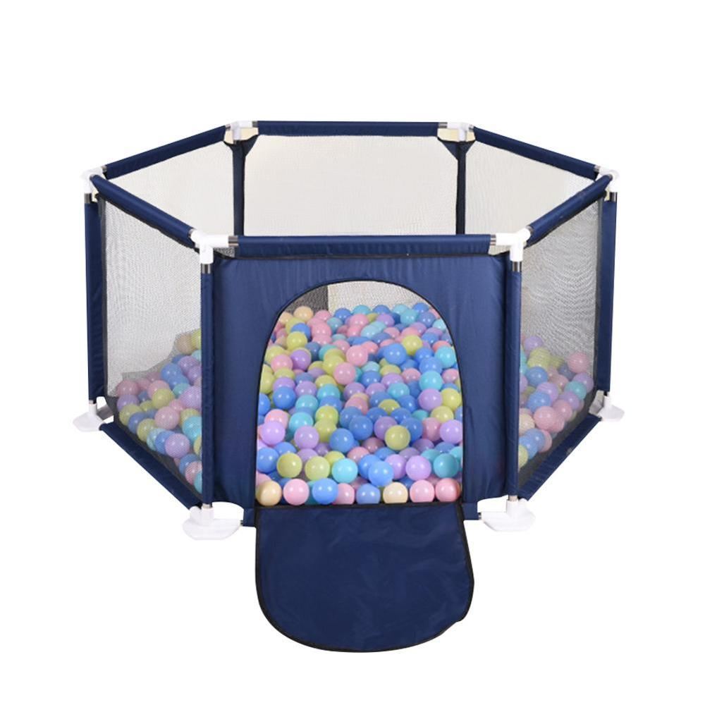 Ocean Ball Pool Children's Game Folding Fence Indoor And Outdoor Six Sided Fence Colorful Ball Pool Tent Game House Play Fence