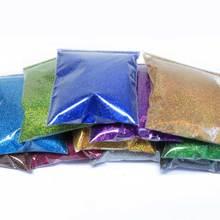 21 шт. голографический блестящий для ногтей порошок Сияющий сахар 50 г/пакет блеск для ногтей горячая Распродажа пылезащитный порошок для украшения ногтей 21 цвет