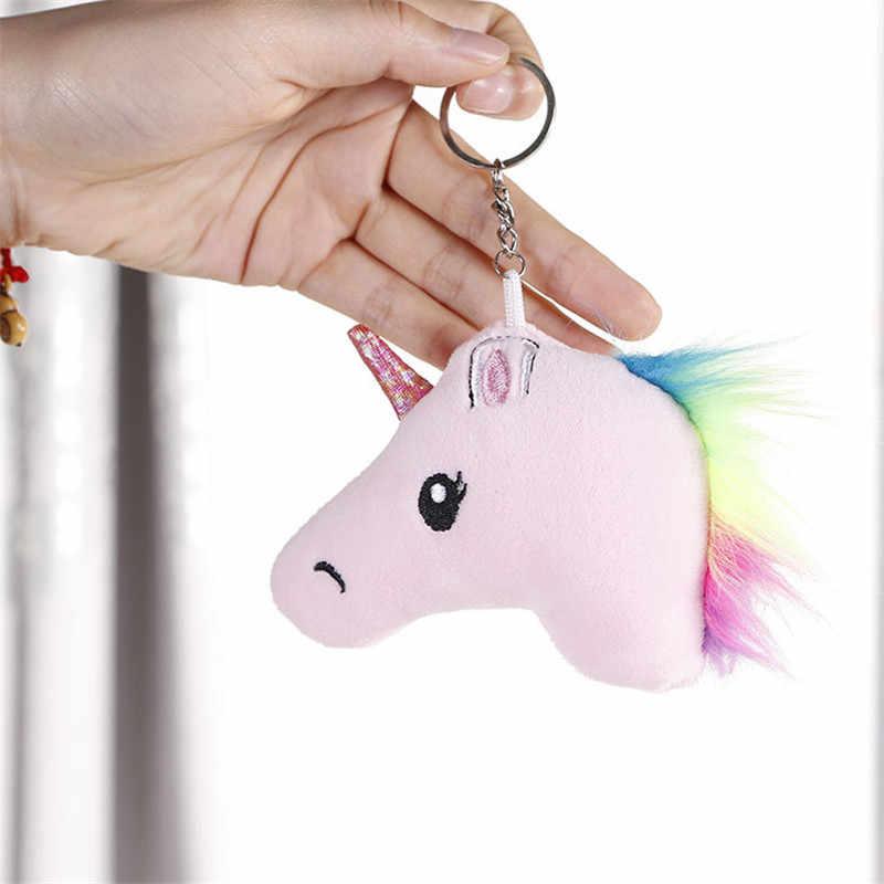 Kawaii جميع التصاميم-يونيكورن ألعاب من نسيج مخملي ، 7 سنتيمتر-14 سنتيمتر محشوة الحيوان مفتاح سلسلة لعبة ، طفل هدية حفلة ألعاب من نسيج مخملي دمية