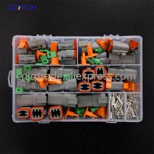 Image 4 - 250pcs Deutsch DT series Waterproof Wire Connector Kit DT06 2/3/4/6S DT04 2/3/4/6P Automotive Sealed Plug with pins box