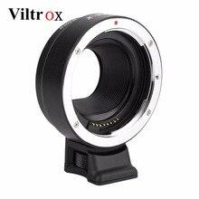 Адаптер Viltrox для объектива с автоматической фокусировкой для Canon EOS EF, фотообъектив EOS M, фотокамера EOS M, M2, M3, M5, M6, M10, M50, M100