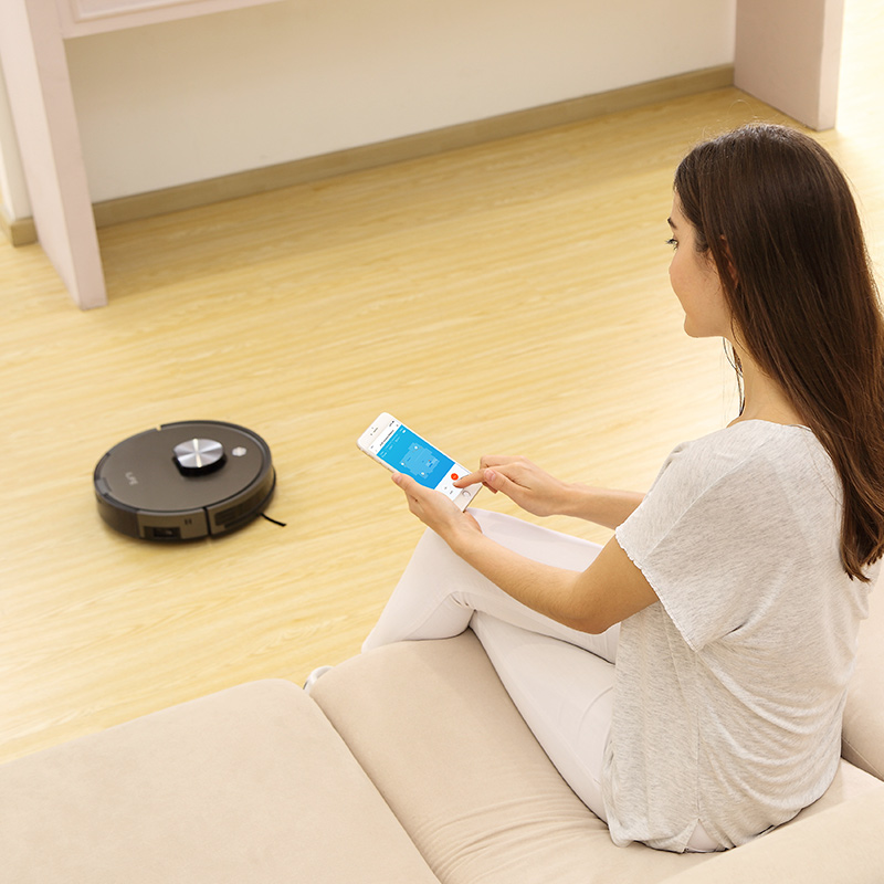 ILIFE A10s Robot Vacuum Cleane,LDS laser navigation, Smart Planned WIFI App Remote Control,Draw Cleaning Area On Map 4