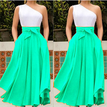 Off One Shoulder Women Dress 2