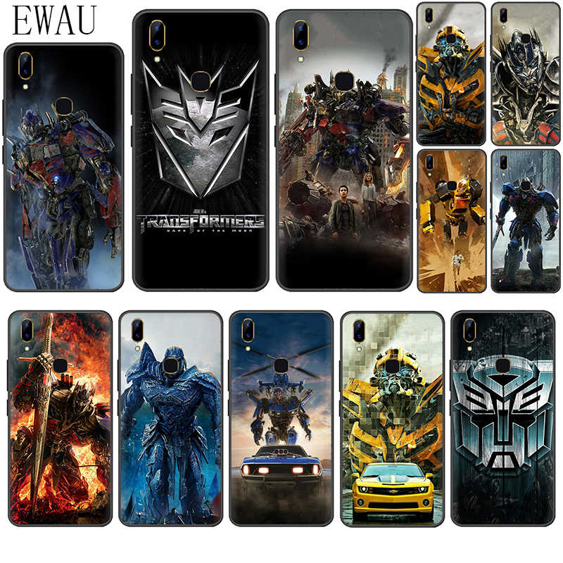 Ewau Transformers Dark Of The Moon Silikon Phone Case untuk Vivo Y53 Y55s Y81s Y79 V9 V11 V15 Pro Y69 y71 Y91C Y93 Y66 X9s Z5X