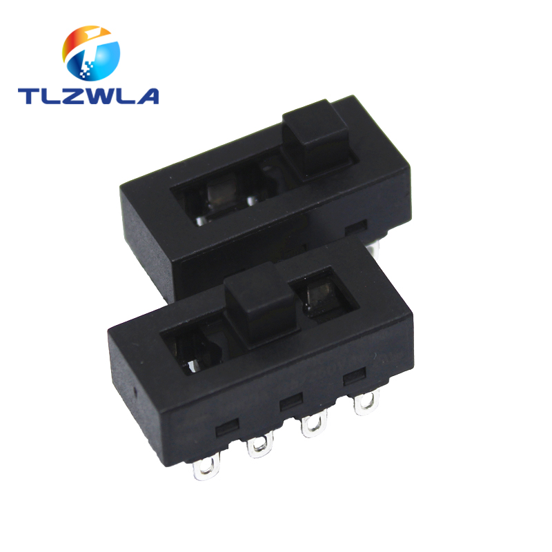 2pcs 12A 250V 3 Position 8 Pin Toggle Slide DIP Switch LQ-103H Hair Dryer Hot Cold Wind For JJ-15 Philips Flyco FH6218/20/21/31