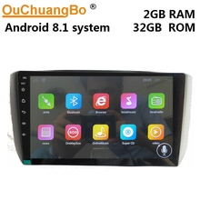Ouchuangbo android 8.1 multimedia player gps radio for ChangAn Alsvin V5 support  9 inch 4 core 2GB RAM 32GB ROM