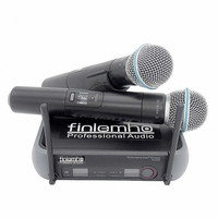 Finlemho Professional Microphone Wireless Karaoke Dynamic Vocal Home Studio Recording XLR For DJ Speaker Conference