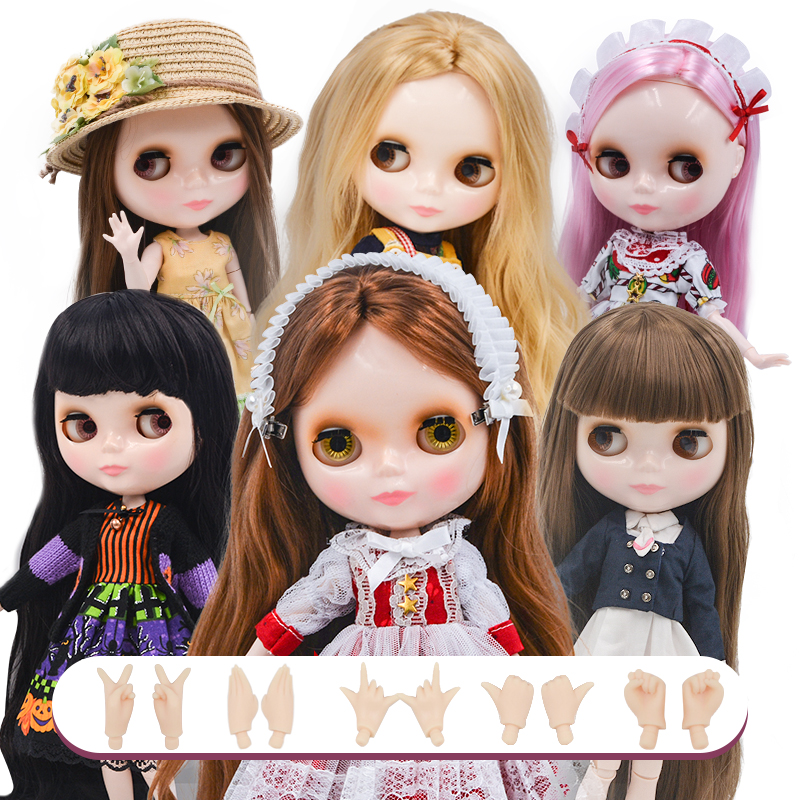 Blyth Doll BJD,Neo Blyth Doll Nude Customized Matte Face Dolls Can Changed Makeup And Dress DIY,1/6 Ball Jointed Dolls NO45