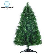 Strongwell шифрование Зеленая елка Мини Искусственные елочные украшения Семейные рождественские украшения для домашнего декора