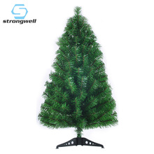 Strongwell 90CM Encryption Green Tree Mini Artificial Christmas Decorations Family Decoration Party Home Decor