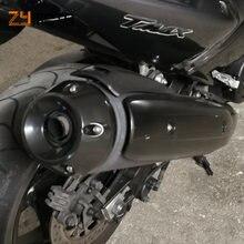 Комплект защитных накладок на выхлопную трубу мотоцикла для