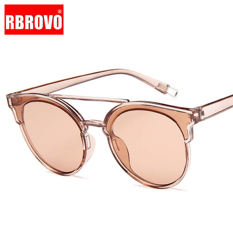 RBROVO Butterfly Sunglasses Ocean-Lens Oculos-De-Sol Classic Vintage Outdoor Women Luxury