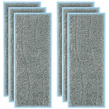 6 Pack Washable Wet Mopping Pads Replacement Compatible IRobot Braava Jet M6