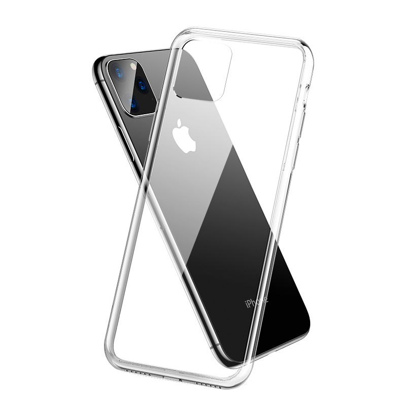 For iPhone 11 2019 Case Slim Clear Soft TPU Cover Support Wireless Charging for iPhone 11 Pro Max 5.8in 6.1in 6.5in X XR XS MAX