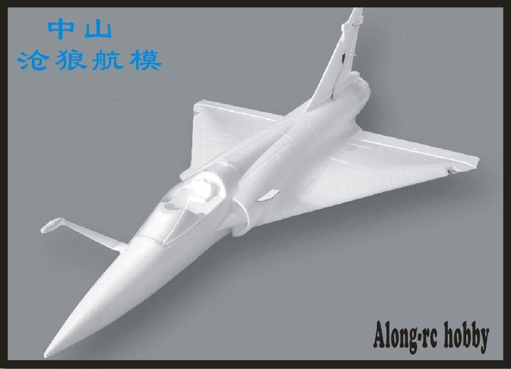 Avion RC EPO 90mm, mousse de Jet EDF, Mirage 2000, kit (KIT uniquement de mousse/pas de télécommande) 1