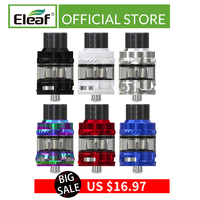 Clearance Original Eleaf ELLO VATE Atomizer 6.5ml/2ml with HW-M 0.15ohm/ HW-N 0.2ohm Head for istick pico s electronic cigarette