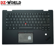 Backlit Keyboard Laptop Palmrest Thinkpad Lenovo with Shell-C-Cover Upper-Case for X1