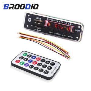 Image 1 - Wireless Bluetooth 5V 12V MP3 Decoder Board MP3 Audio Player Module Support USB SD AUX FM Audio Radio Module For Car accessories