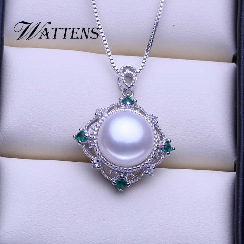 Doğal inci takı setleri tatlısu inci kolye yüzük zirkon küpe kadınlar için 925 ayar gümüş düğün parti günlük hediye