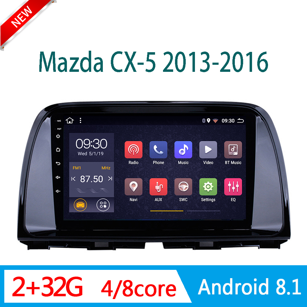 car DVD Player For <font><b>mazda</b></font> CX5 <font><b>CX</b></font> <font><b>5</b></font> RAM2G 2013-2016 central Multimedia auto <font><b>radio</b></font> system am DSP RDS WIFI 1din <font><b>Android</b></font> mirror link image