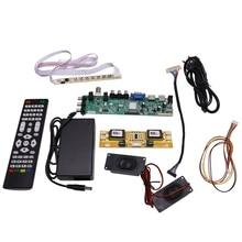 DS.D3663LUA.A81 DVB T2/T/C Digital TV 15 32 Inch Universal LCD TV Controller Driver Board for 30Pin 2Ch,8 Bit(EU Plug)