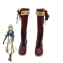 2018 Japanese Anime Violet Evergarden Cosplay Women Shoes Boots