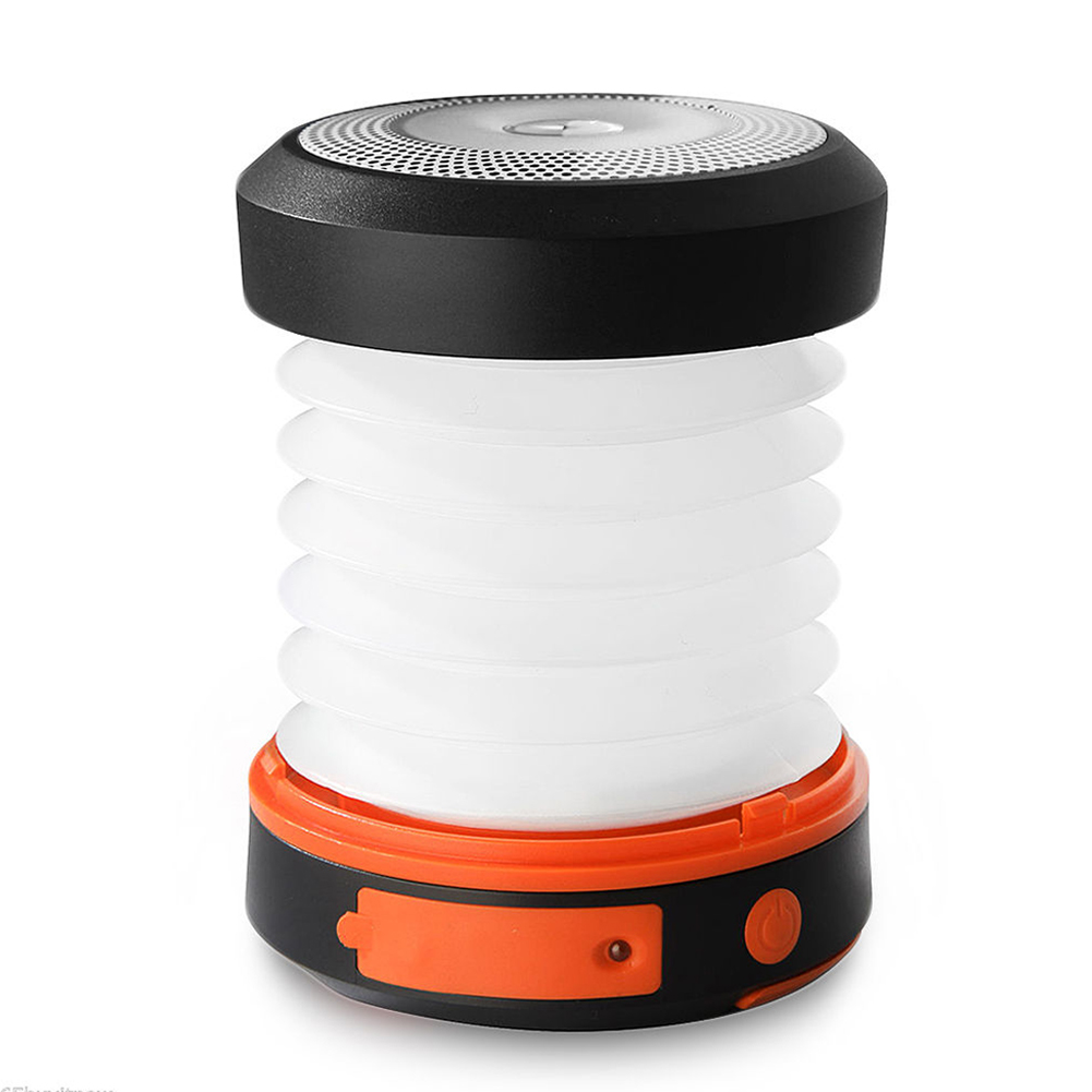 Mobile Charger Hiking Outdoor Super Bright Led USB Lantern Portable Solar Powered Retractable