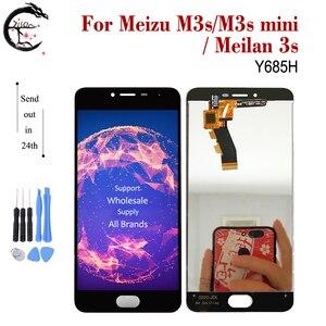 Image 3 - LCD עבור Meizu M3s M3 LCD תצוגת מסך מגע Digitizer הרכבה M3s מיני תצוגת Meilan 3 3s LCD תצוגה meilan3s החלפה