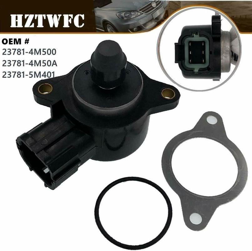 Бесплатная доставка, клапан управления скоростью холостого хода с прокладкой для Nissan Almera N16 QG15DE 23781-5M401 23781-5M403 23781-4M500 237814M500